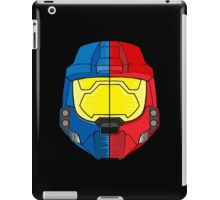 Red vs Blue Helmet iPad Case/Skin