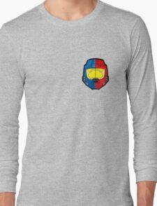 Red vs Blue Helmet Long Sleeve T-Shirt