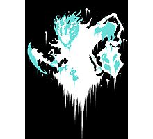 Thresh Ink Black Photographic Print