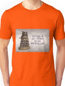 A Wrinkly Old Man Who Needs A Hug Unisex T-Shirt