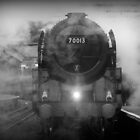 Oliver Cromwell - 70013 by Beverley Barrett