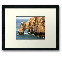 Lands End at Cabo San Lucas Framed Print
