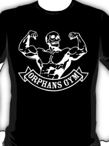 Orphans gym (old father iron) white T-Shirt