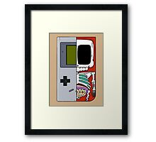 Game Boy Dissected A Framed Print