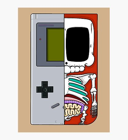 Game Boy Dissected A Photographic Print