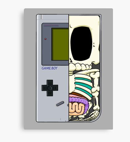 Game Boy Dissected B Canvas Print