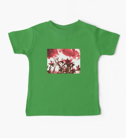 Lilies in Red Baby Tee