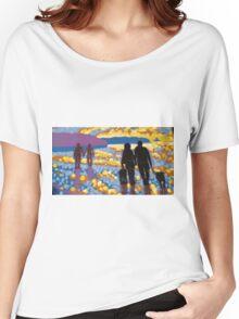 Shore Walk Women's Relaxed Fit T-Shirt