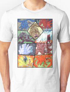 All Jinchuriki - Naruto T-Shirt