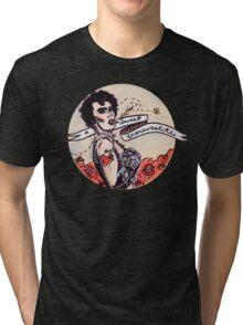 Just a Sweet Transvestite Tri-blend T-Shirt