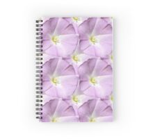 Natural Blooming Flowers - Light Purple Calycinas Spiral Notebook