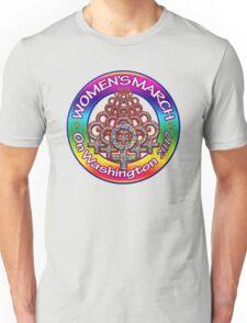 Women's March on Washington 2017 Rainbow Unisex T-Shirt