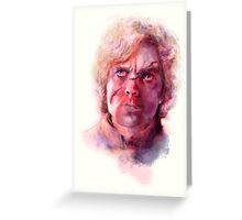 Tyrion Lannister Portrait Greeting Card