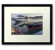 boat no. 11 Framed Print