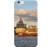 View from South bank  iPhone Case/Skin