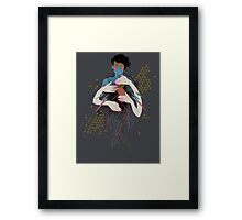 The Rush Framed Print
