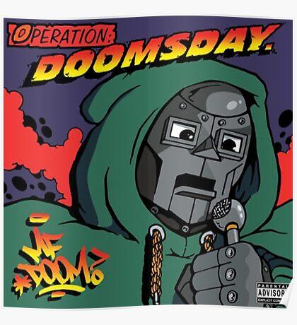 MF Doom - Operation doomsday Poster