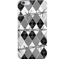 Argyle and Wire Skewers iPhone Case/Skin