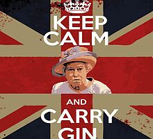 Keep Calm - Carry Gin by rettop70