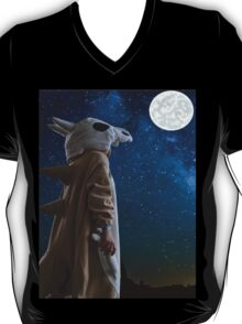 Lonely Cubone Under the Night Sky T-Shirt