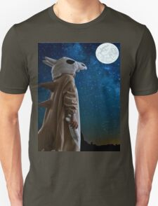Lonely Cubone Under the Night Sky Unisex T-Shirt