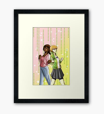 Twin Chariots Framed Print