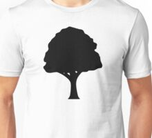 Black tree logo Unisex T-Shirt