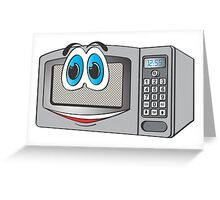 Stainless Steel Male Microwave Cartoon Greeting Card