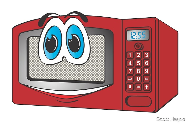 Cartoon Microwave Oven ~ Oven microwave cartoon kitchen appliance cooking radarange
