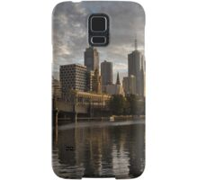 Dawn on yesterday's tomorrow - Sunrise, Southbank Melbourne Samsung Galaxy Case/Skin