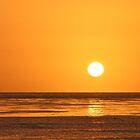 Golden sunset by Karol Franks