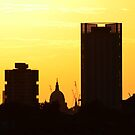 Sunset St Paul's  by Sparowsong