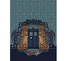 the Doctor crest ART NOUVEAU Photographic Print