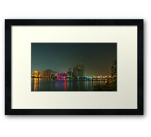 Jeddah Skyline Framed Print