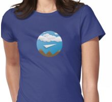 Paper Airplane 62 Womens Fitted T-Shirt