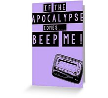 Buffy the Vampire Slayer Apocalypse Greeting Card