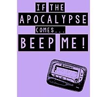 Buffy the Vampire Slayer Apocalypse Photographic Print