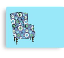 Grandpa's Armchair Canvas Print