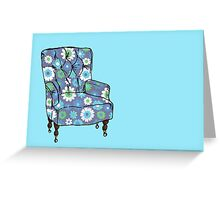 Grandpa's Armchair Greeting Card