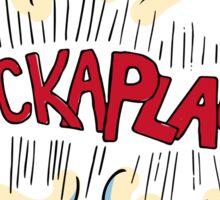 """Hamilton """"Chickaplao!"""" Comic-style Merch Sticker"""