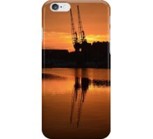 Sun Set Cranes iPhone Case/Skin