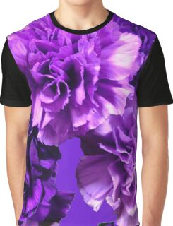 Natural Blooming Flowers - Purple Cattely Orchids Graphic T-Shirt