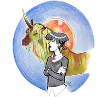 Girl and Her Magical Horse by Rebekah  Byland