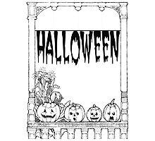 Halloweenn Photographic Print