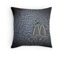 "Quoth The Raven,""No Damned More"" Throw Pillow"