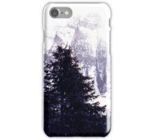 Canadian Rockies in Winter. iPhone Case/Skin