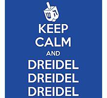 Keep Calm and Dreidel Photographic Print