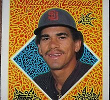 232 - Benny Santiago by Foob's Baseball Cards