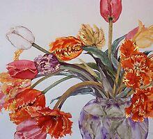 Tulip Bouquet # 12 by cszuger