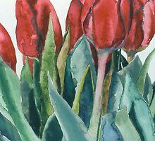Mini-Valentine Tulips by cszuger